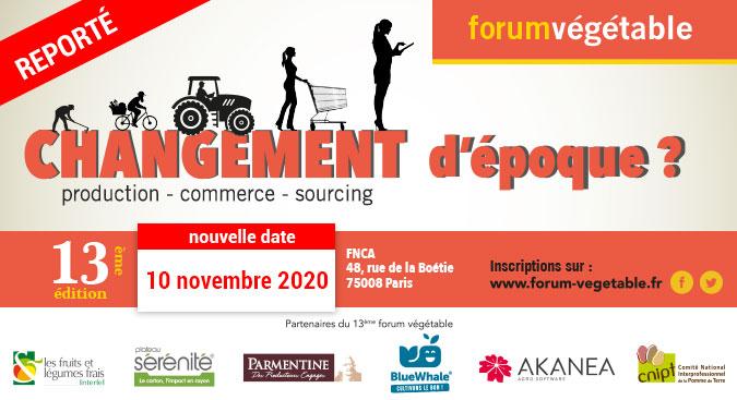 Forum Végétable Le rendez-vous stratégie & business de la filière fruits & légumes